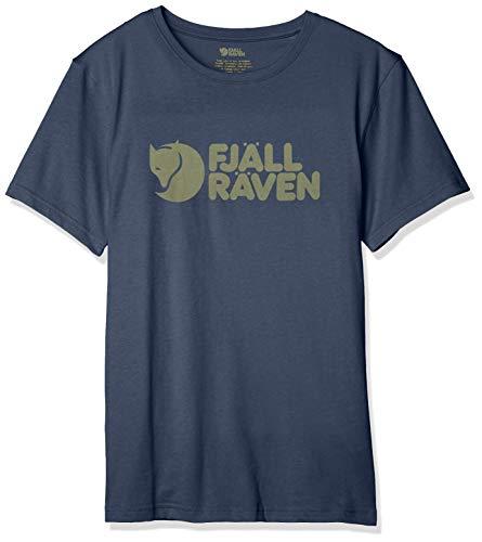 FJALLRAVEN Herren Logo T-Shirt M XXL Marineblau