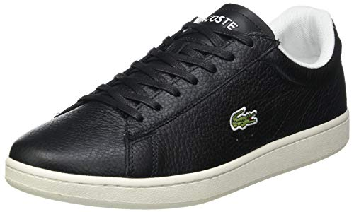 Lacoste Herren Carnaby EVO 0120 2 SMA Sneaker, Schwarz Blk Off Wht, 42.5 EU