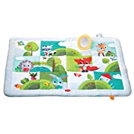 Activity playmat, suitable for babies 0 month + X-large size (150 x 100 cm), provides enough space for playing and bonding time Foldable play mat: Easy to fold and carry, using the integrated carry handle Engaging activities stimulate development Tin...