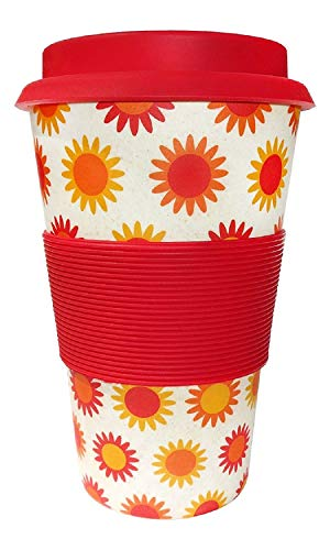 Ecoffee Cup Happy Reusable Coffee Cup 400ml