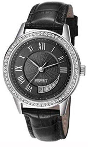 Esprit Damen Analog Quarz Uhr mit Leder Armband ES106002001