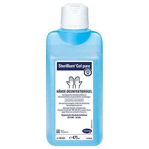 Hartmann Sterillium® Gel pure Hände-Desinfektionsgel, Desinfektion, 85% Ethanol, 475 ml