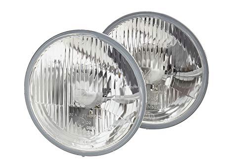 HELLA 1A6 002 395-821 Halogène-Kit de projecteurs principaux - 12V - rond - Chiffre de référence: 20 - Montage encastré - gauche/droite - Kit - Quantité: 2