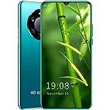 FJYDM Teléfono Inteligente Android Desbloqueado Teléfono Móvil con Pantalla De Alta Definición De 6.5 Pulgadas, Teléfono con Cámara Trasera De 48MP, Batería De 5200Mah,Verde