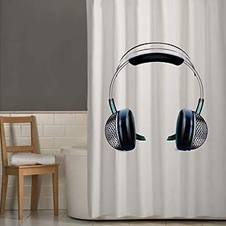 Right Canvas White 180cm x 200cm Shower Curtain - RG138NPIC00056