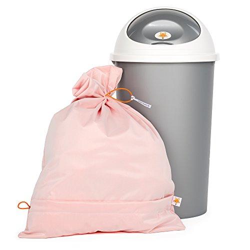 Foxy Baby® Waschsack und Windeleimer für Stoffwindeln - Sparpack (Orange)