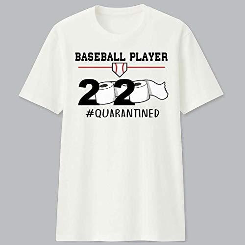 Baseball Player 2020#Quarantined Shirt Unisex T-Shirt, Hoodie, Sweatshirt, Tank Tops, Gift For Men Women.