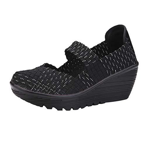 Mocasines Zapatos no Tejidos de Mujer