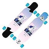 LWG 42 Zoll Freestyle Longboard Skateboards Wide Deck Dancing...