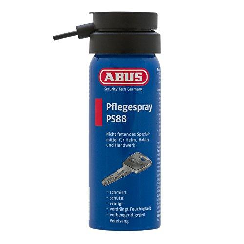ABUS PS 88–Spray Gleitmittel Fett frei und Feuchtigkeit abweisend 50ml