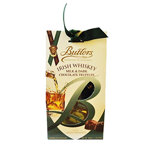 Butlers Irish Whiskey Chocolate Truffles Milk & Dark