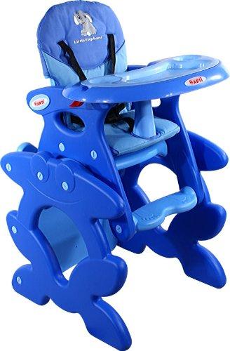 Chaise haute de bébé pour enfants ARTI Betty J-D008 Little Elephant Blue Chaise haute Set - chaise et une table
