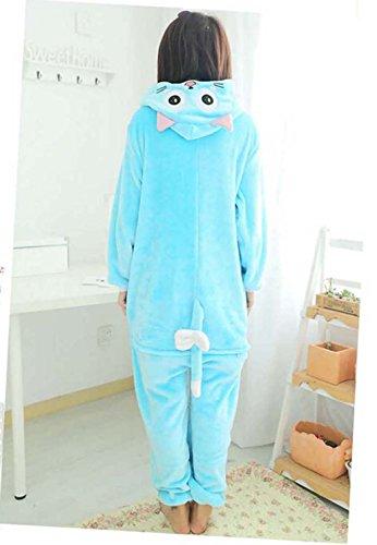 Pijamas Enteros Cosplay Adulto Ropa de Dormir Hombre Camisones Disfraces Carnaval Ropa Pijamas de Una Pieza Mujer Gato Hobbit Habi