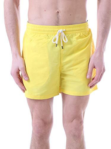 Polo Ralph Lauren Herren Badeshorts Swim Shorts Badeboxer L Yellow (016)