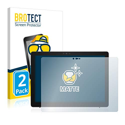 BROTECT 2X Entspiegelungs-Schutzfolie kompatibel mit Dell Latitude 7200 2-in-1 Bildschirmschutz-Folie Matt, Anti-Reflex, Anti-Fingerprint