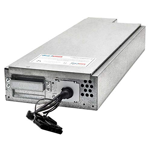 SMX3000RMLV2U - UPSBatteryCenter APCRBC117 Compatible Replacement Battery Pack for APC Smart-UPS X 3000VA Rack/Tower LCD SMX3000RMLV2U