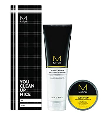 Mitch Clean Cut Styling Hair Cream and Gift Set