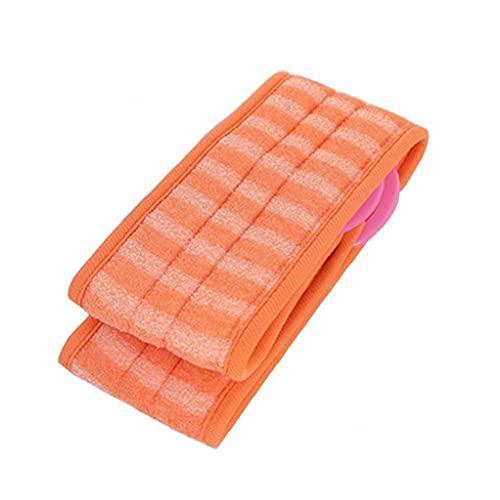 LjzlSxMF Exfoliantes de lufa Volver depurador con Extra Grande Luffa Natural Reducir Volver acné Baño Cepillos de Orange Inicio Gadget