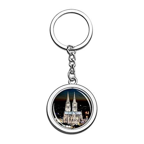 Llavero de la catedral de Colonia de Alemania, llavero de re