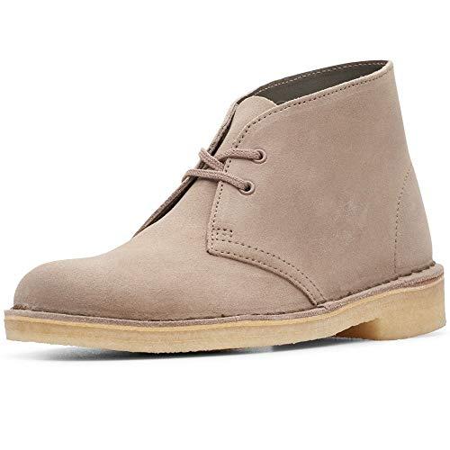 Clarks Originals Damen Desert Boots, Beige (Mushroom SDE Mushroom SDE), 41 EU