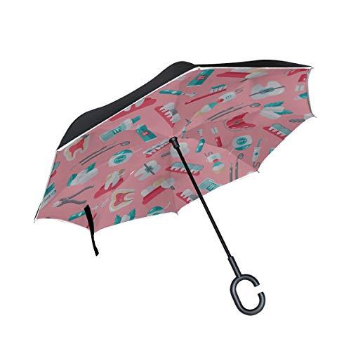 Paraguas Niñas Lindo Cepillo de Dientes eléctrico automático XL Paraguas de Lluvia...