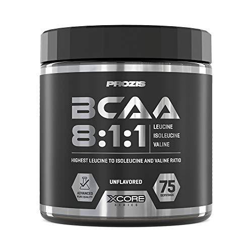 Prozis BCAA 8:1:1 SS Amminoacidi Ramificati, 300 g, Naturale