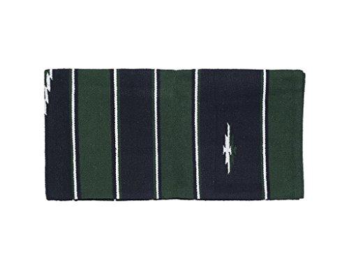 Tough 1 Wool Sierra Saddle Blanket, Hunter/Black