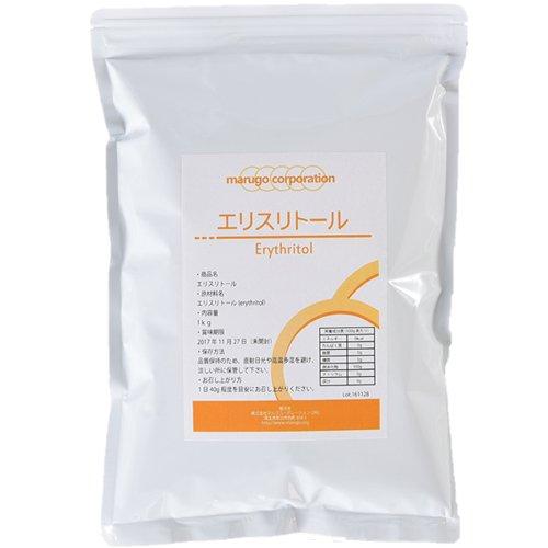 marugo(マルゴ) エリスリトール (erythritol) 粉末1kg+計量スプーン付き