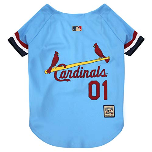 Pets First MLB St. Louis Cardinals SLC-4000-MD, Blue, Medium