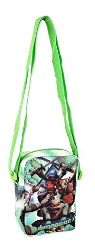 Turtles Dimension X Sac de Sport pour Enfants, 18 cm, Multicolore