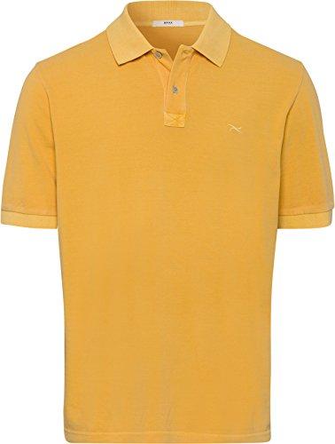 BRAX Herren Style Washer Polo Pele Poloshirt, Yellow, Medium