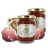 Brezzo Ragú de Culatello | Selección de Salsas Italianas para Pasta | 190 Gramos