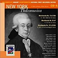 The Complete Mozart Divertimentos: Historic First Recorded Edition: CD 4 by Mozart (2002-07-28)