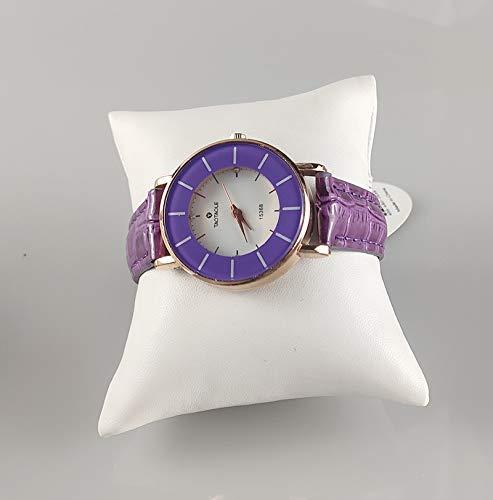 2020 YXWEI Hecho a mano de la PU personalizable o terciopelo pequeña pulsera sostenedor de la exhibición del reloj del brazalete de la almohadilla soporte de exhibición de la joyería de la caja del or