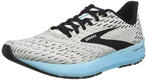 Brooks Men's Hyperion Tempo, White/Blue, 11.5 D (M)