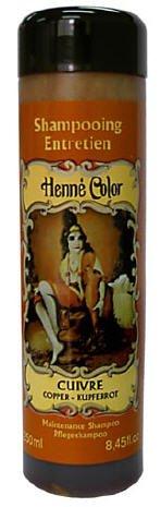 Henne Color, Henna Shampoo, Kupfer (Cuivre), 250ml