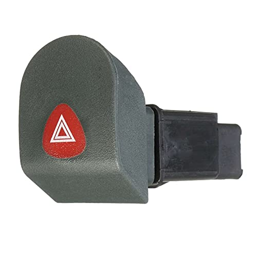Impetuous Botón de Interruptor de luz de Advertencia de Peligro de Coche Fit para Renault Kangoo Express 1998-2002 7700308821