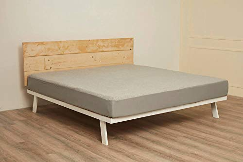 """Wakefit Water Proof Terry Cotton Mattress Protector 78""""x72"""" - King Size, Grey 3"""