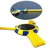 Chang Wassermobiles aufblasbares Trampolin,10Ft große Wasserspritztrampoline Sportschwimmplattform...