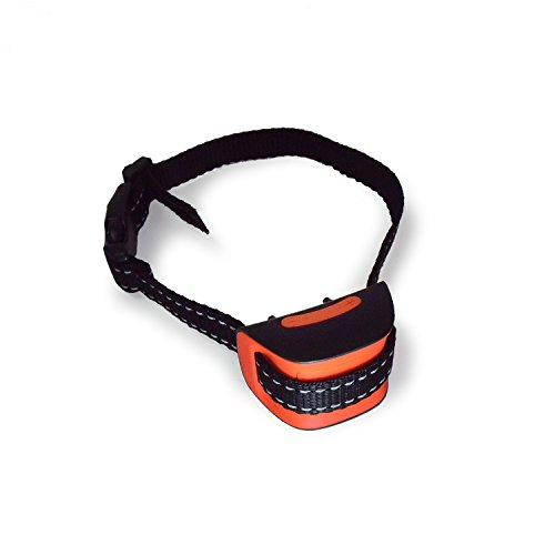 DAONLY Collar automático antiladridos SIN DESCARGAS para Perros. Collar eléctrico para Perros pequeños y Grandes. Collar de adiestramiento de Nylon para la Salud de tu Mascota (24 a 36 cm.)