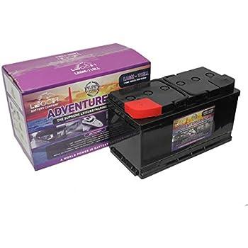 Batterie Camping Car décharge lente AGM 12v 110ah: