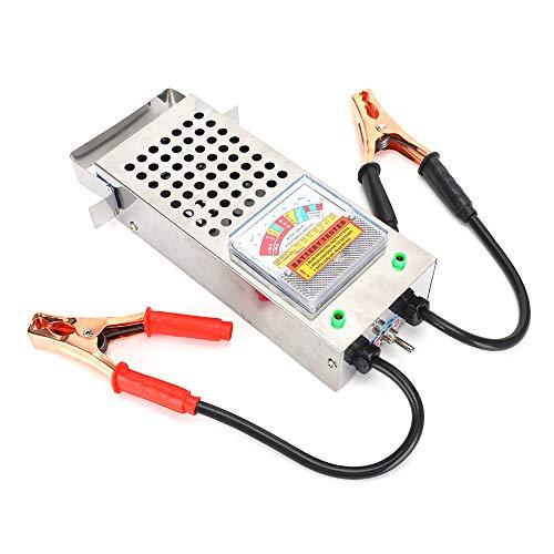 Cloudbox Probador de Cargador de batería de automóvil 6‑12V Analizador de Carga automotriz Medidor de Potencia 0-200AMP Herramienta de diagnóstico con Clip