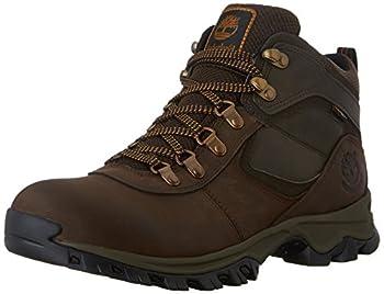 Timberland Men s Anti-Fatigue Hiking Waterproof Leather Mt Maddsen Boot Brown 11