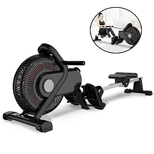 HRSS Rudergerät Einstellbare Haushalts Faltbare Low Noise Magnetic Control Rudergerät Ausdauertraining Aerobic Fitnessgeräte geeignet for den Sport Fitness