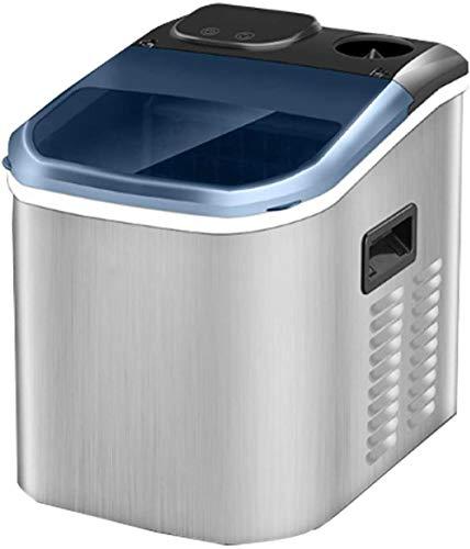 Tragbare elektronische Eismaschine Machen Sie Eiswürfel mit in Minuten Eis in Stunden Wassertank und Eisschaufel Home Kitchen Bar Ktv