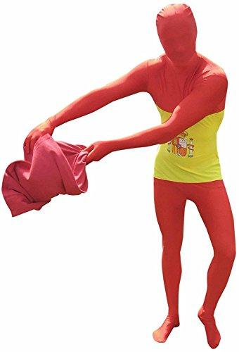 Morphsuits - Disfraz de segunda piel (pegado al cuerpo) adultos, talla L (MFSPL)