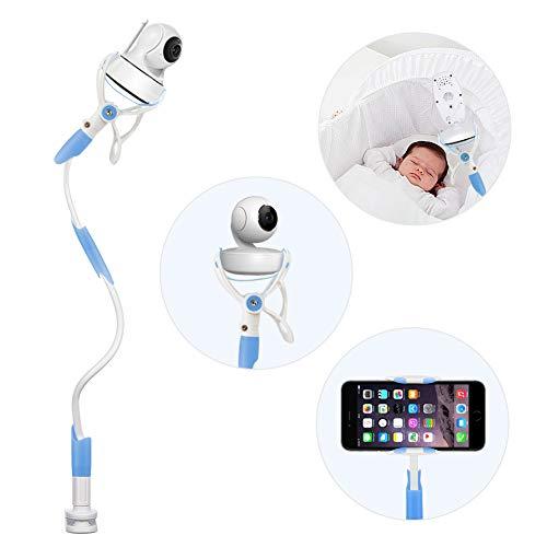 Kamera Halterung, YIKANWEN Universal Baby Monitor Halter,Handyhalter, Kompatibel mit den meisten Babyphone (blau)