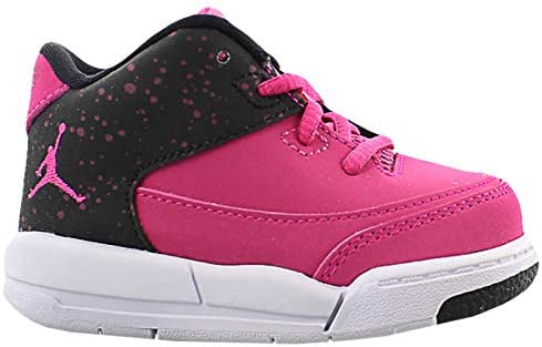 Jordan 820251-600: Little Kids Flight Origin 3 Rush Pink Sneakers (12 M US Little Kid)