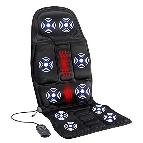 Abaft Robotic Massage Seat Cushion with Heat Eletrci Mat Pad for Both Home Car Office Car Massage Seat