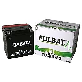 Batterie FULBAT AGM YIX30L-BS 12V 30Ah 385A Longueur: 165 x Largeur: 125 x Hauteur: 175 (mm)